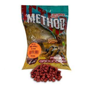 Pelete Benzar Method Feeder Red Krill 12mm 800g