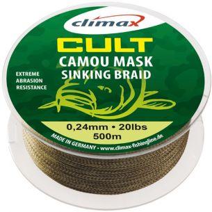 Fir Textil Climax Cult Camou Mask Sinking 0.18mm 500m 10lb