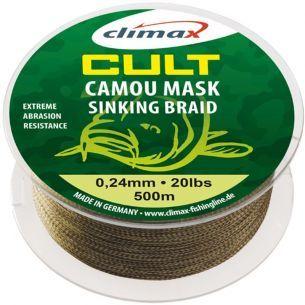 Fir Textil Climax Cult Camou Mask Sinking 0.24mm 500m 20lb