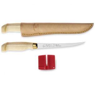 Cutit Pentru Filetat Marttiini Lumberjack 15cm + Dispozitiv Ascutire