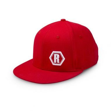 Sapca Rapala Red Urban White Logo 3D