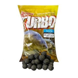 Boilies Benzar Mix Turbo Spicy Fish 15mm 800g