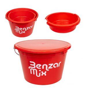 Galeata Nadire Benzar Mix 25L cu Capac + Vas 8L