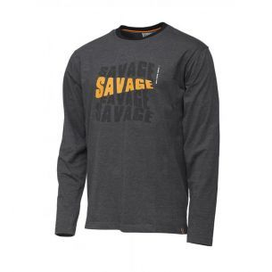 Bluza Savage Gear Simply Logo-Tee Long L