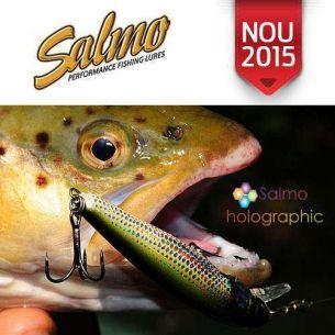Vobler Salmo Minnow M5F Holo Bleak 5cm 3g