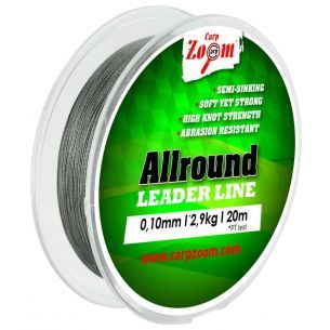 Fir Textil Pentru Legat Carlige CZ Allround Leader Line 0.14mm 5.4kg