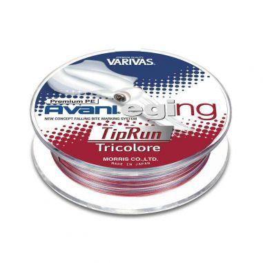 Fir Textil Varivas Avani Eging Tip Run Premium PE Tricolore 0.128mm 150m 10lb