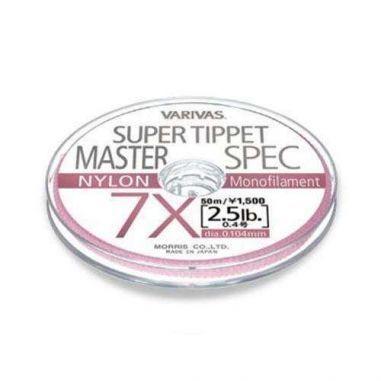 Varivas Super Tippet Master Spec Nylon 3X 0.205mm 50m 7.6lb