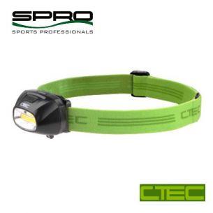 Lanterna Cap Spro C-TEC 3W 210 Lumeni Cap Rabatabil