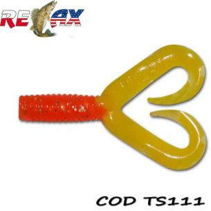 Twister Relax 4.5cm Double Tail Standard 111 (25buc)