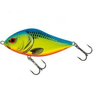 Vobler Salmo Slider SD10S CB Chartreuse Blue 10cm 46g Limited Edition
