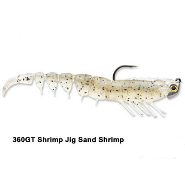 Creature Crevete Storm Costal Shrimp Sand Shrimp 8cm 3.5g 4buc