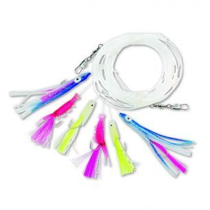 Streamer Zebco Mackerel Rig Multicolor No.2/0 6buc