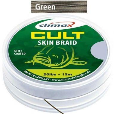 Fir Textil Climax Cult Skin Braid Camou Green 15m 20lb