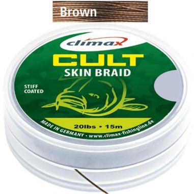 Fir Textil Climax Cult Skin Braid Camou Brown 15m 20lb