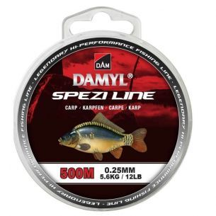 Fir Crap DAM Damyl New Spezi Line Carp 0.25mm 500m 5.6kg