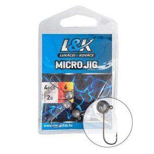 L&K Micro Jig 2412 nr.1/0 2g 4buc