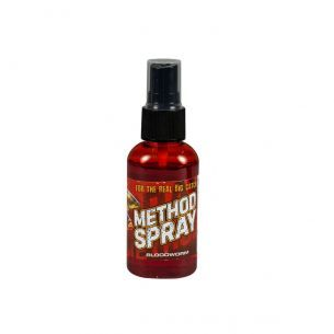 Method Feeder Spray Benzar 50ml Bloodworm Rosu