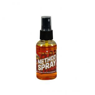 Method Feeder Spray Benzar 50ml Miere Capsuni Rosu