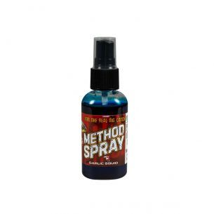 Method Feeder Spray Benzar 50ml Usturoi Squid Albastru