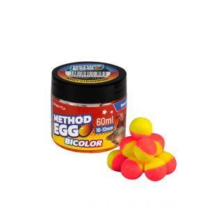 Method Egg Bicolor Benzar Mix Miere Capsuni 10-12mm 60ml