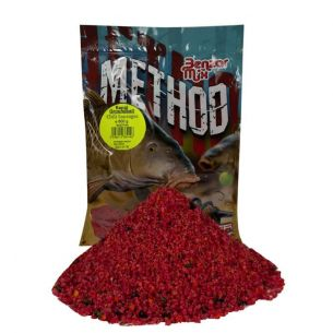 Groundbait Benzar Method Feeder Mix Rapid Chilli Condimente 800g