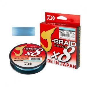 Fir Textil Daiwa J-Braid Grand X8 Blue 0.18mm 135m 12.5kg