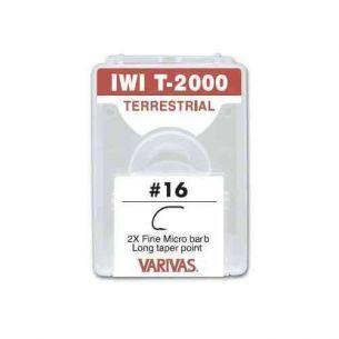 Carlige Musca Varivas Iwai T-2000 2X Fine nr.12 30buc
