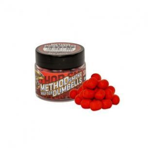 Benzar Mix Method Smoke Wafter Dumbells 8mm Red Krill