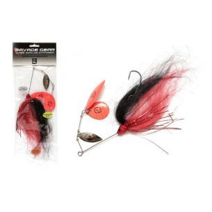Spinnerbait Stiuca Savage Gear Da Mega Bush Black Red 55g
