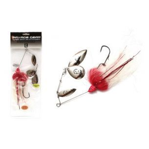 Spinnerbait Stiuca Savage Gear Da Mega Bush Red Head 55g