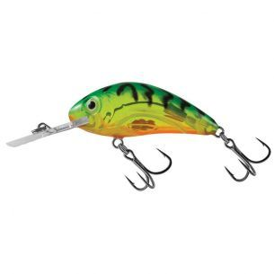 Vobler Salmo Rattlin Hornet 4.5F Clear Hot Green Tiger 4.5cm 6g
