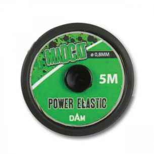 Tub Silicon Madcat Power Elastic 0.80mm 5m