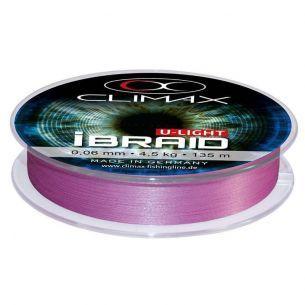 Fir Textil Climax iBraid U-Light Fluo Purple 0.06mm 135m 4.5kg
