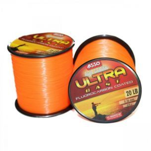 Fir Asso Ultra Cast Orange 0.28mm 1000m 9.8kg