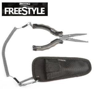 Cleste Multifunctional Spro Freestyle cu Husa si Carabina