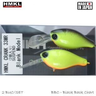 Vobler HMKL Crank 33 MR Suspend Black Back Chart 3.3cm 3g 2buc
