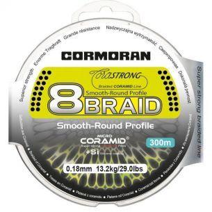 Fir Textil Cormoran CoraStrong 8Braid Verde 0.20mm 300m 15.1kg