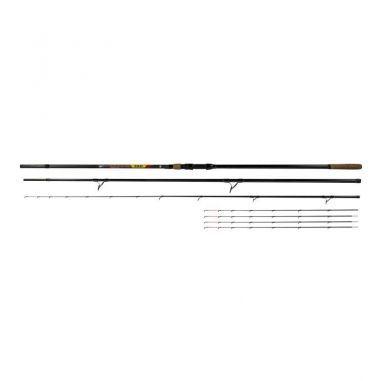 Lanseta Benzar No Limit Method Feeder 3.90m 50-150g 3+5 Segm Benzar Mix