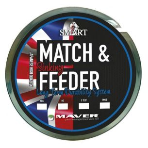 Fir Monofilament Maver Smart Match & Feeder Sinking 0.166mm 600m 2.65kg