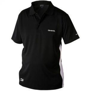 Tricou Polo Daiwa D-Vec Black M