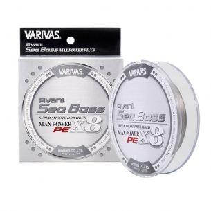 Fir Varivas Sea Bass Max Power PE X8 Stealth Gray 0.20mm 150m 28.6lb
