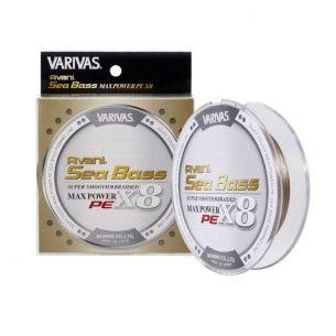 Fir Varivas Sea Bass Max Power PE X8 Status Gold 0.18mm 150m 24.1lb