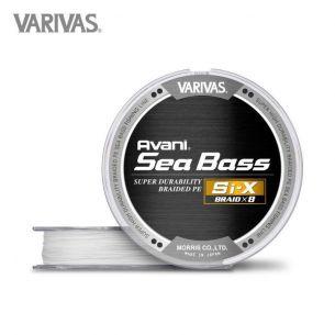 Fir Varivas Avani Sea Bass PE Si-X Premium White 0.14mm 150m 18lb