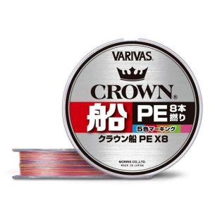 Fir Textil Varivas Crown Fune PE X8 0.405mm 300m 38kg