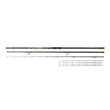 Lanseta Benzar No Limit Method Feeder 3.60m 50-150g 3+5 Segm Benzar Mix