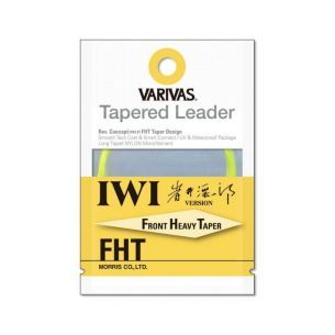 Varivas Fly Tapered Leader IWI FHT 4X 16ft 0.165mm-0.46mm
