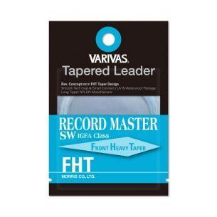 Varivas Fly Tapered Leader Record Master SW IGFA 12ft 8lb
