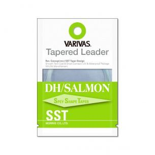 Varivas Fly Tapered Leader DH Salmon SST 1X 18ft 0.26mm-0.54mm