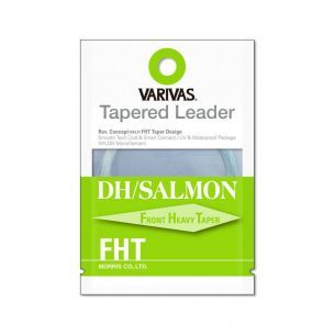 Varivas Fly Tapered Leader DH Salmon FHT 0X 18ft 0.285mm-0.56mm